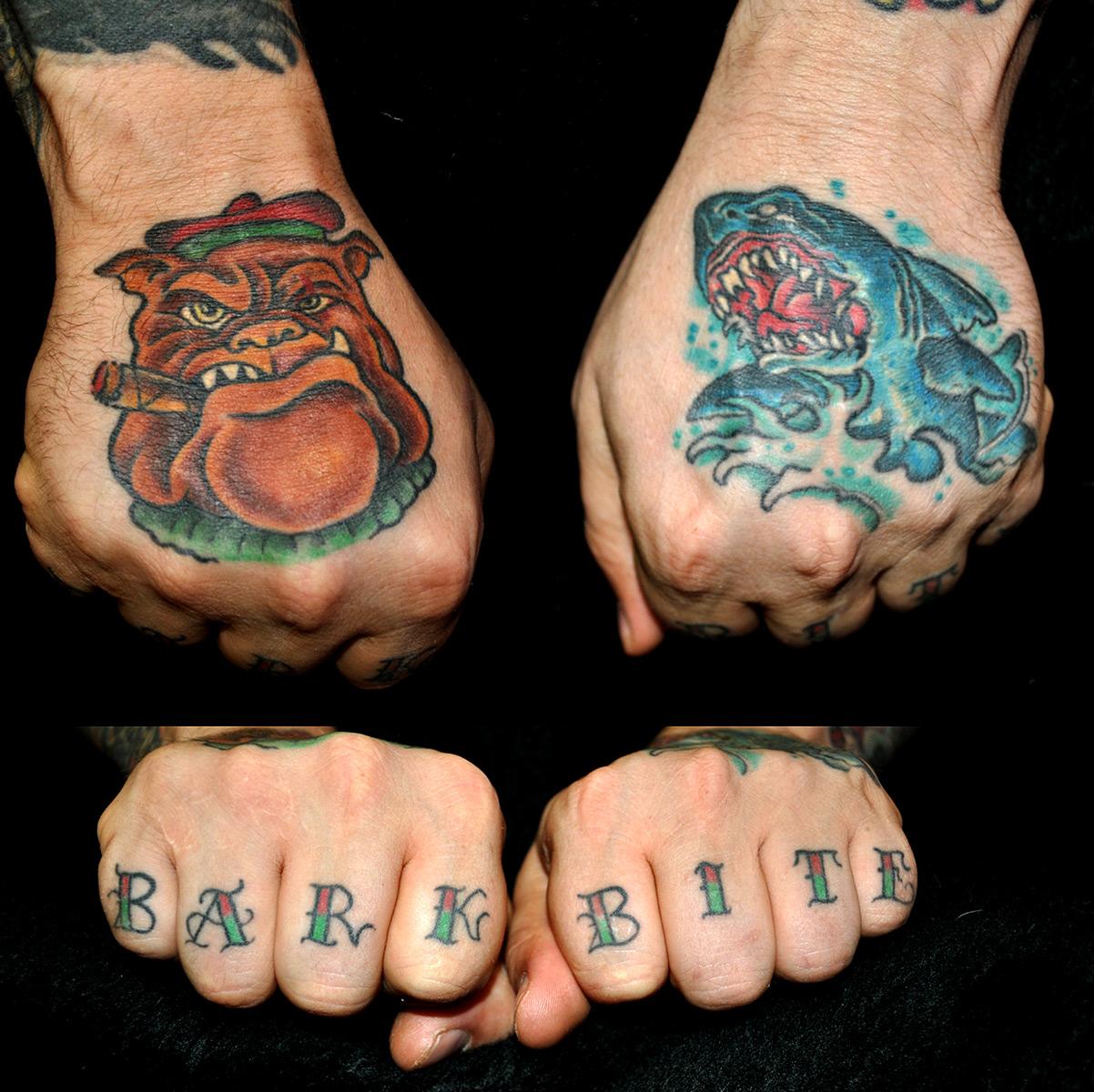 Tattoo Hände