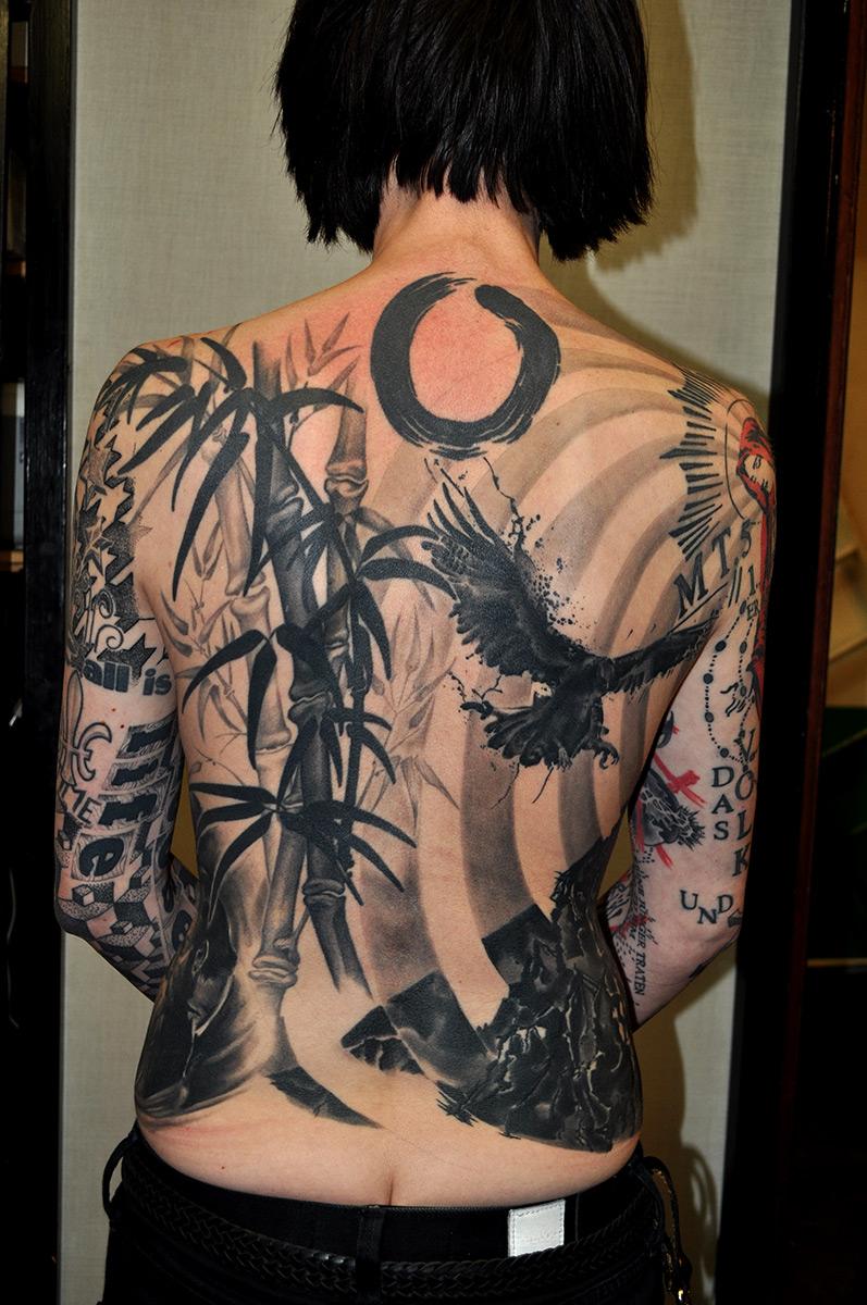 Tattoo Rücken japanisch