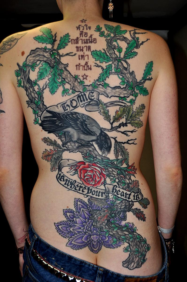 Tattoo Rücken