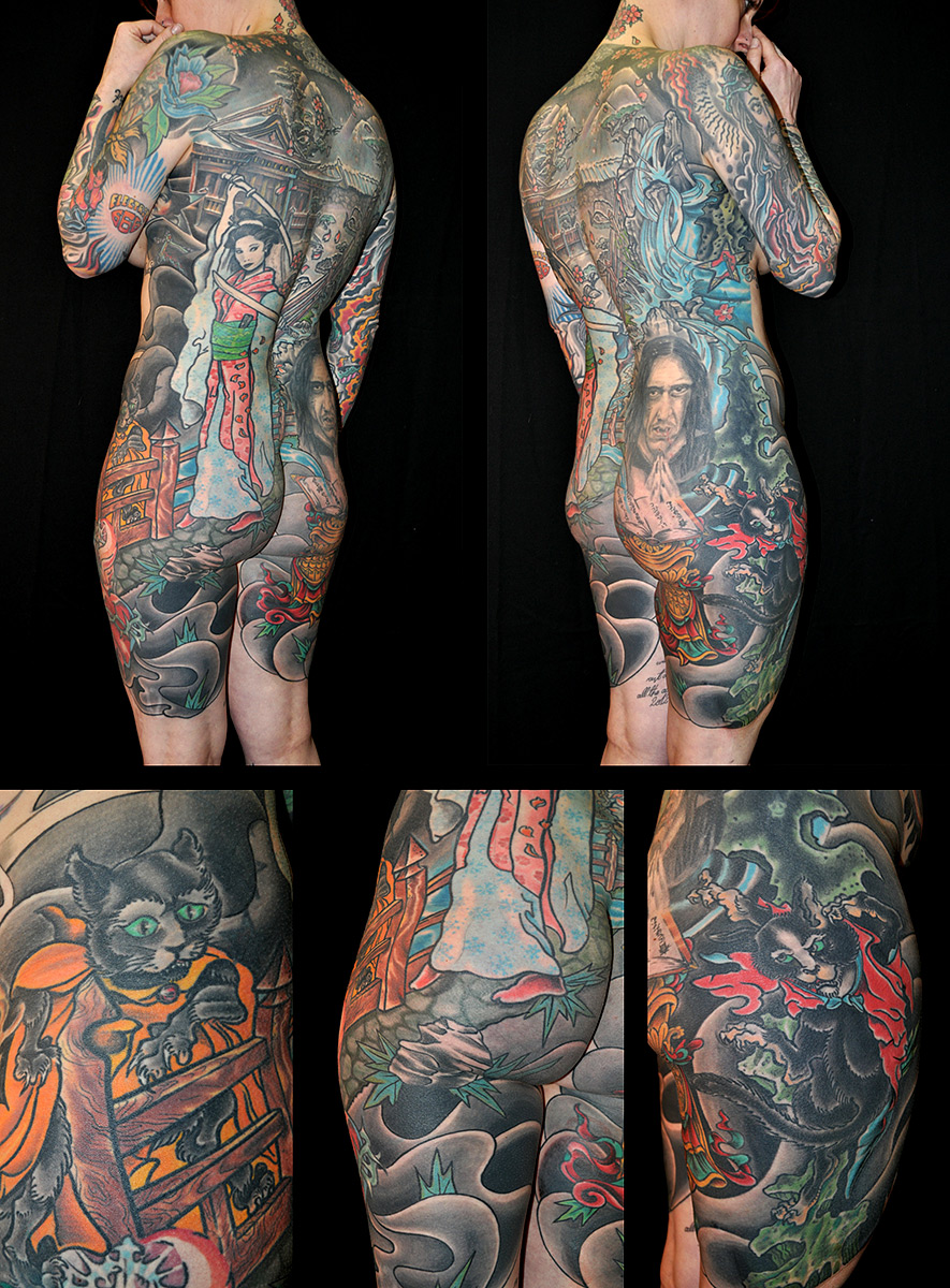 Tattoo Body Suit