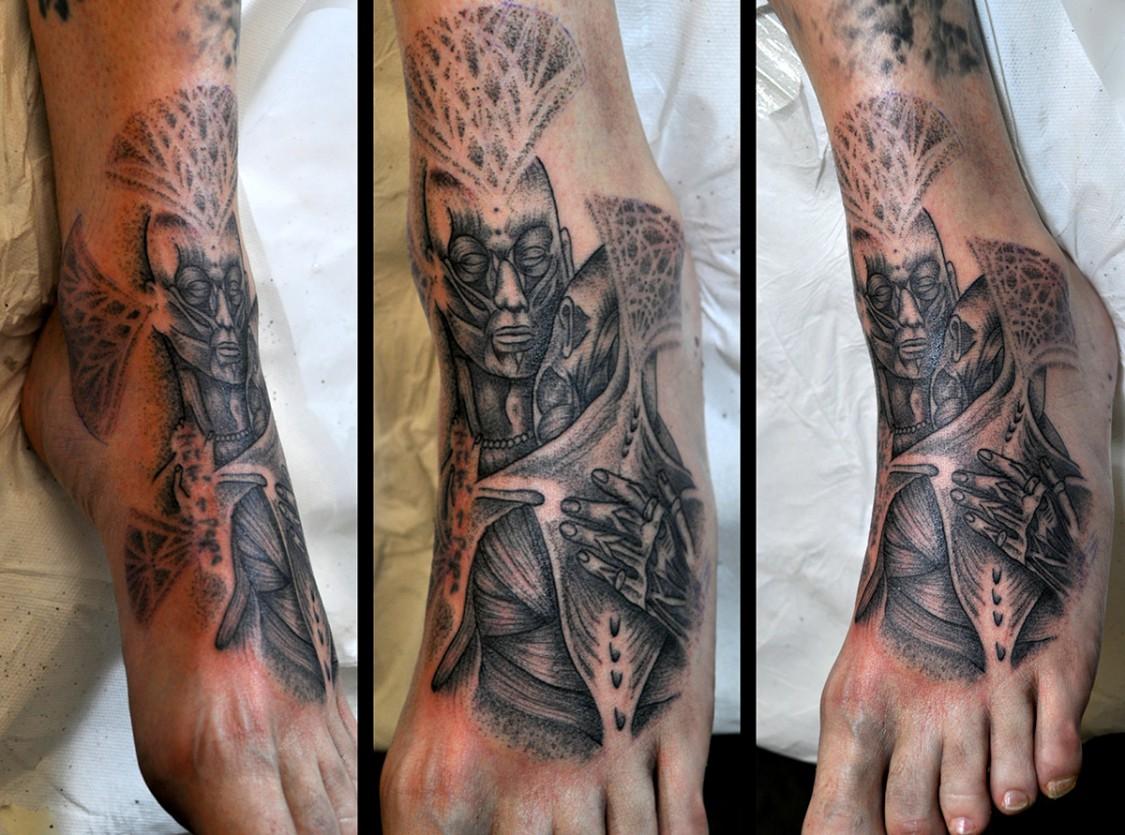 Tattoo Fuß